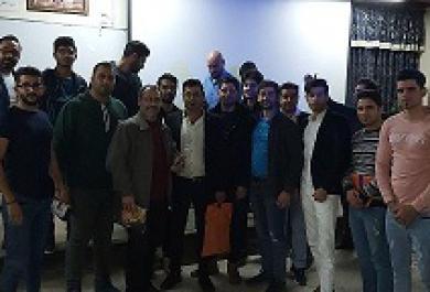 حضور دانشجویان نخبه در همایش دانشگاه نوشیروانی