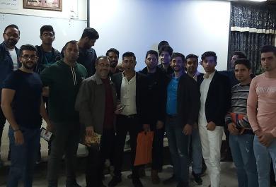 حضور دانشجویان نخبه در همایش دانشگاه نورشیروانی