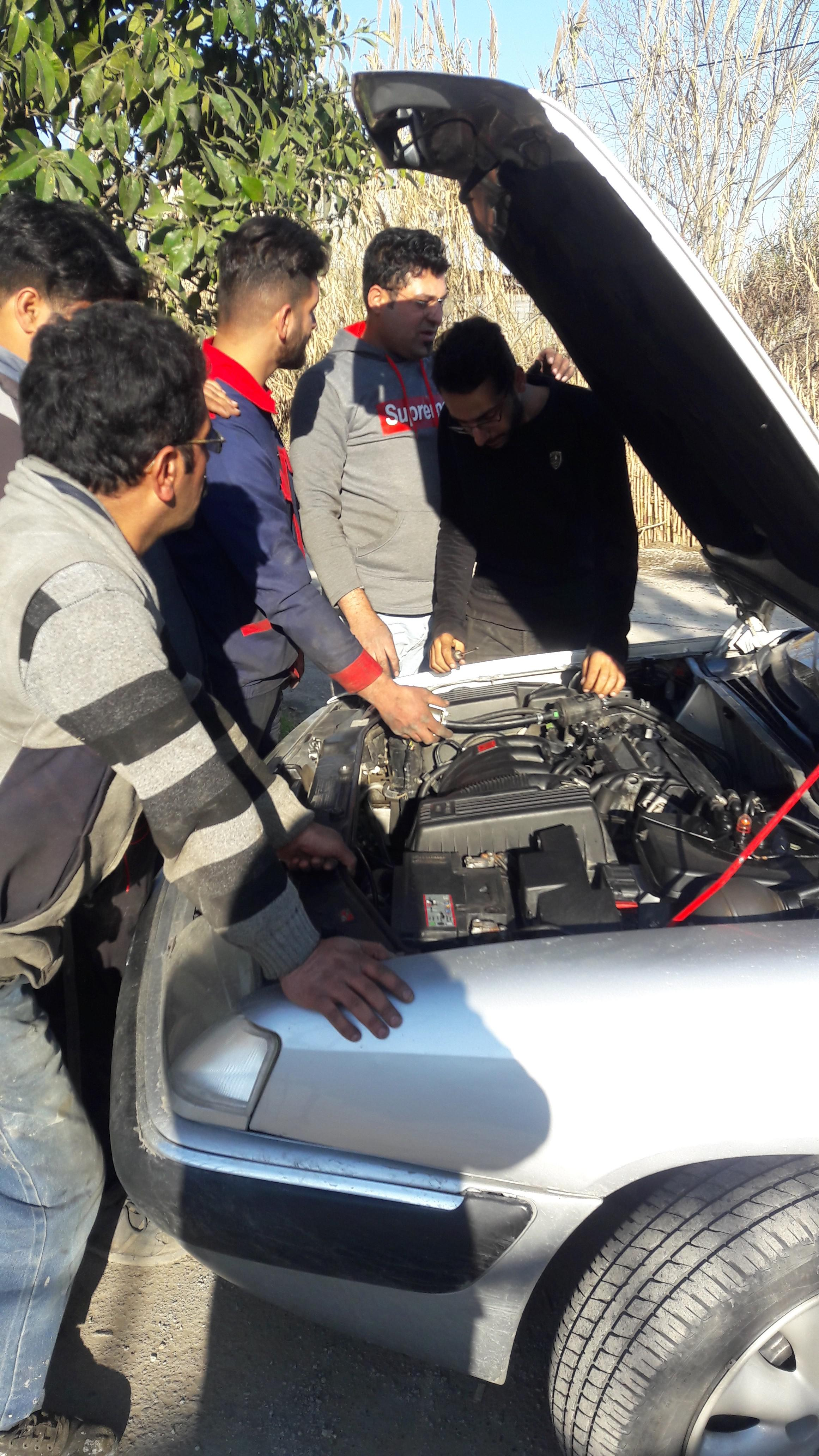 آموزش تنظیم موتور در کارگاه